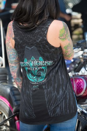 Broken Wings Tank - Black